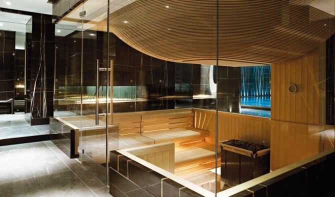 klafs sauna at espa life at corinthia hotel london inspirasjon pinterest london hotels. Black Bedroom Furniture Sets. Home Design Ideas
