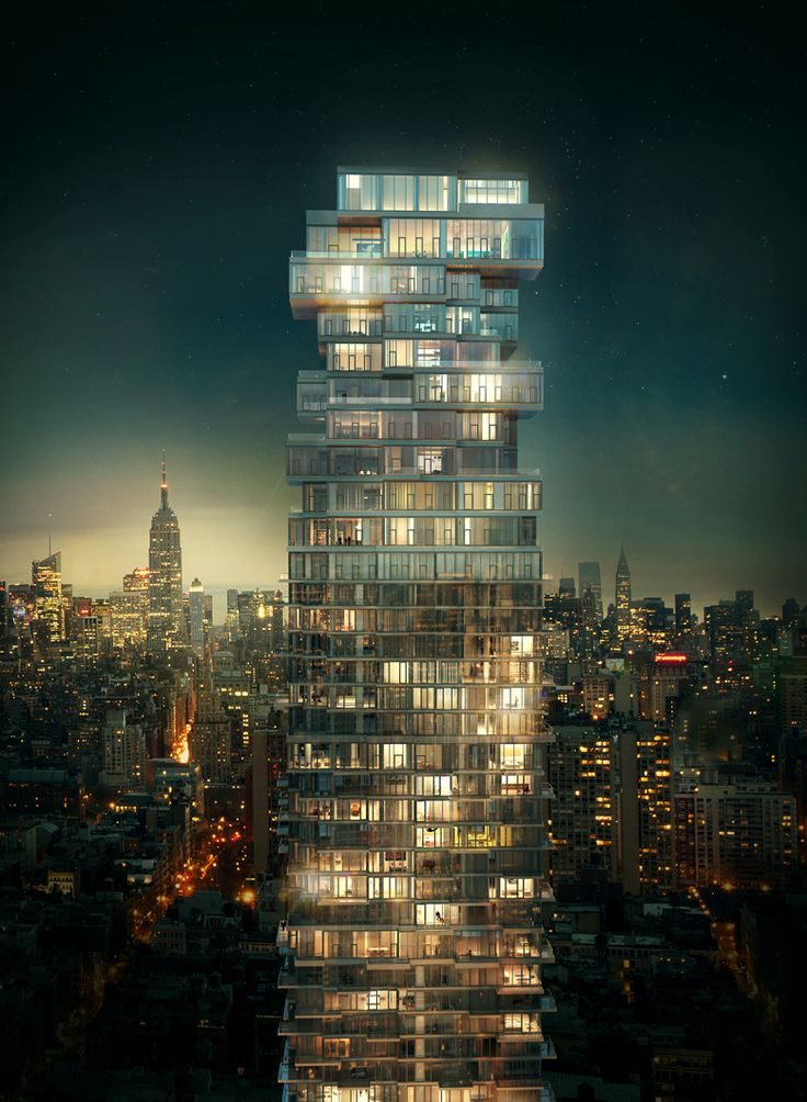 56 Leonard Street – Thrilling Bulky Design Shaping the New York Sky Silhouette