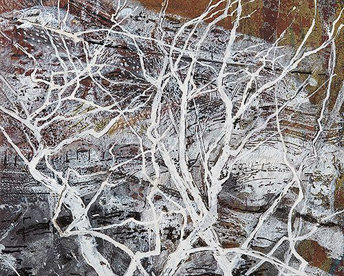Frost Tree by Victoria Crowe