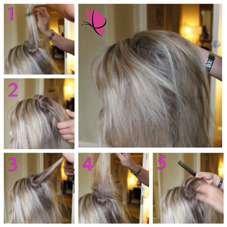 The 25 best how to backcomb hair ideas on pinterest french tip on how to add volume in your hair 1 use the hair on the crown of your head separate it into 3 portions take bottom portion and backcomb about 5 pmusecretfo Image collections