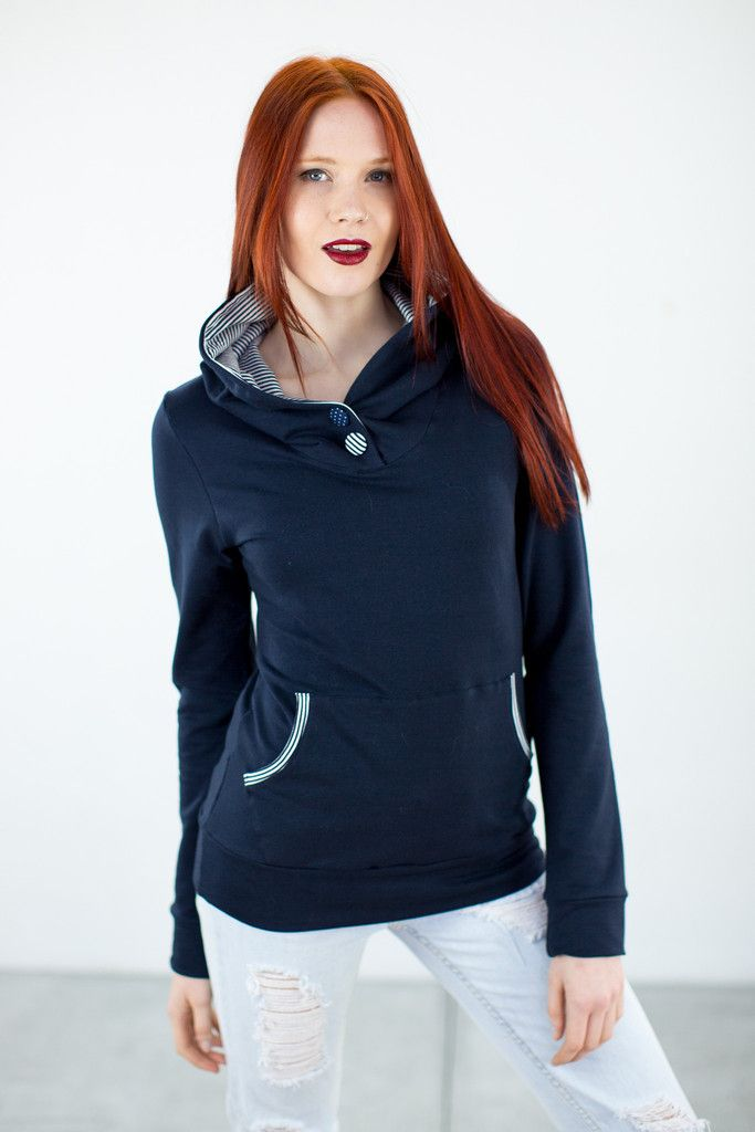 Hoodie Two Times Navy