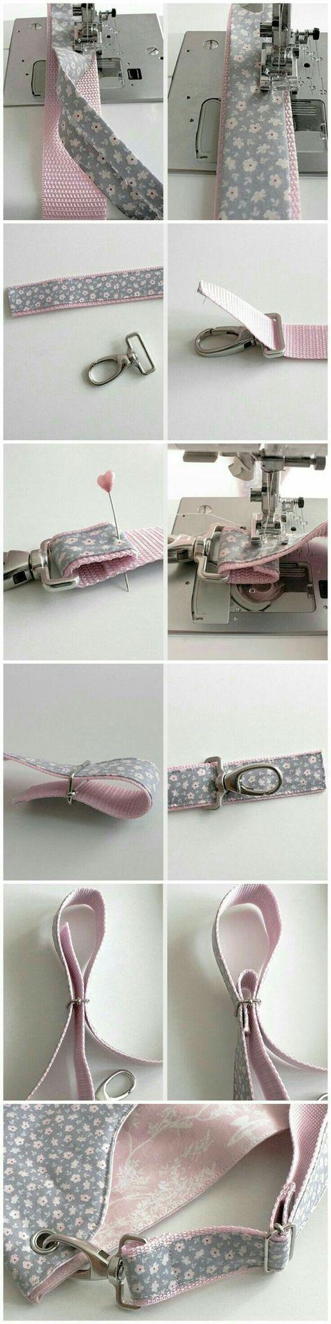 Sling bag sewing tips