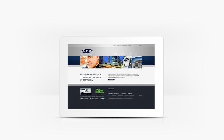 Transport LFL | www.transportlfl.com | Site Web |Team Marketing • Web • Design