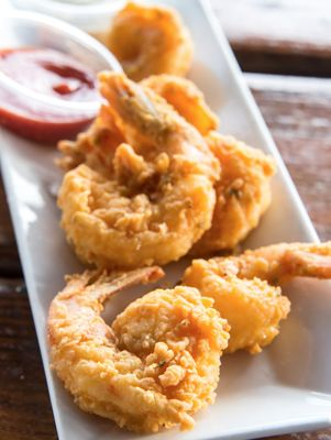 The Lady and Sons Beer-Battered Fried Shrimp