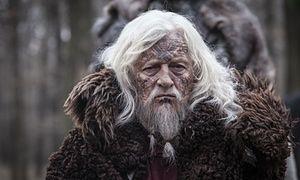 Scene-stealer … Rutger Hauer as the blind Ravn in The Last Kingdom
