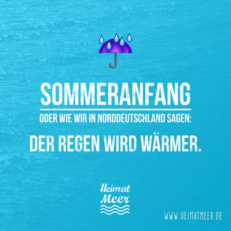Sommer in Norddeutschland ☔ Pinnen, wenn ihr das auch so kennt!