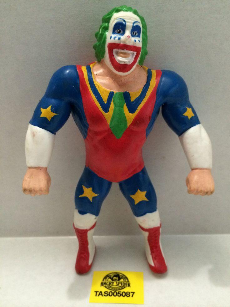 (TAS005087) - WWE WWF WCW nWo Wrestling Bend-Ems Action Figure - Doink