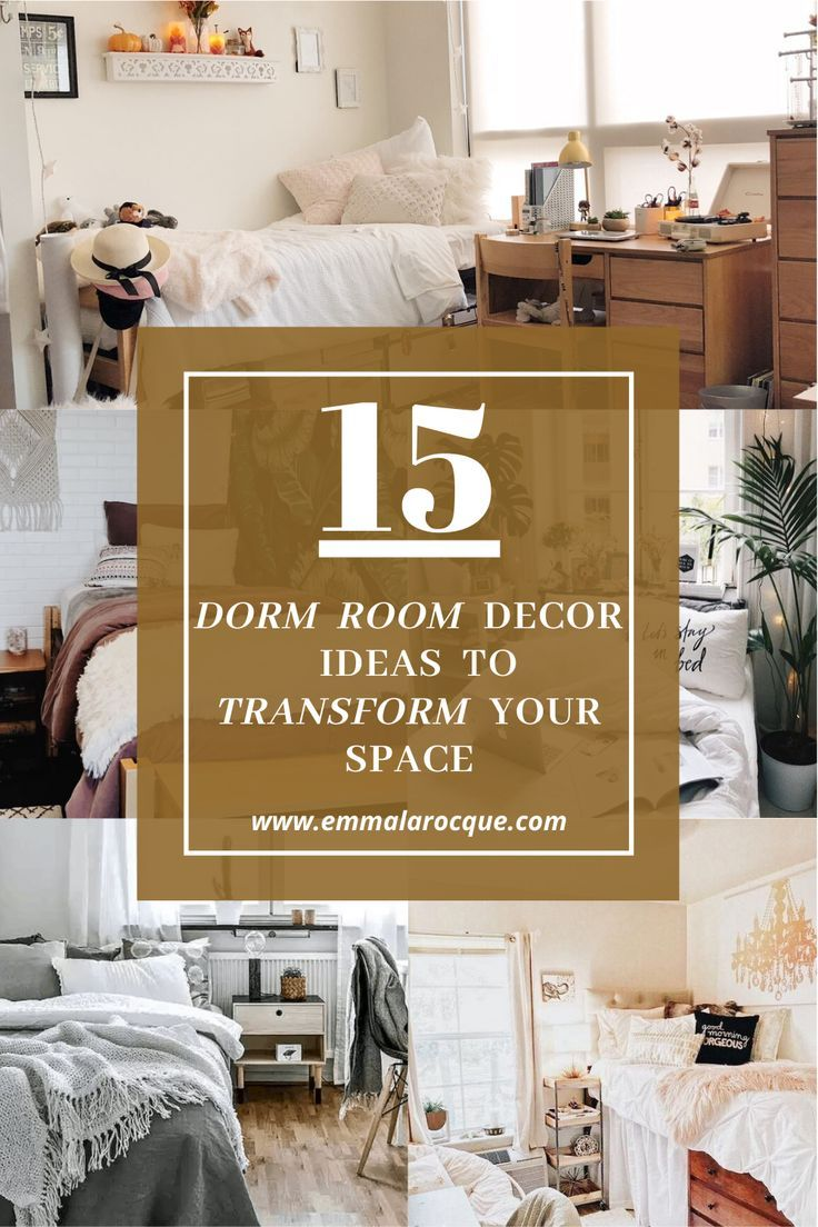15 Amazing Dorm Room Decor Ideas Transform Your Room In 2020