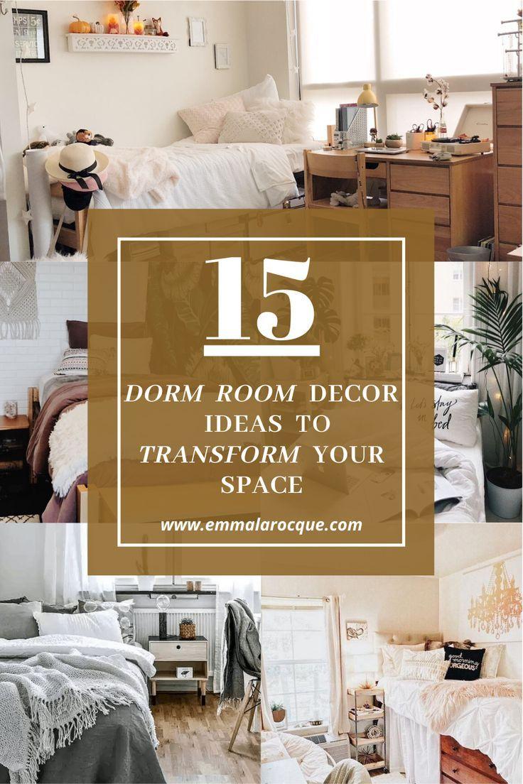 15 Amazing Dorm Room Decor Ideas Transform Your Room In 2020
