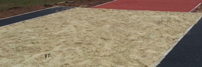 Long Jump Run Up   Triple Jump Runways : Long Jump Runways - http://longjumprunway.co.uk/fife/