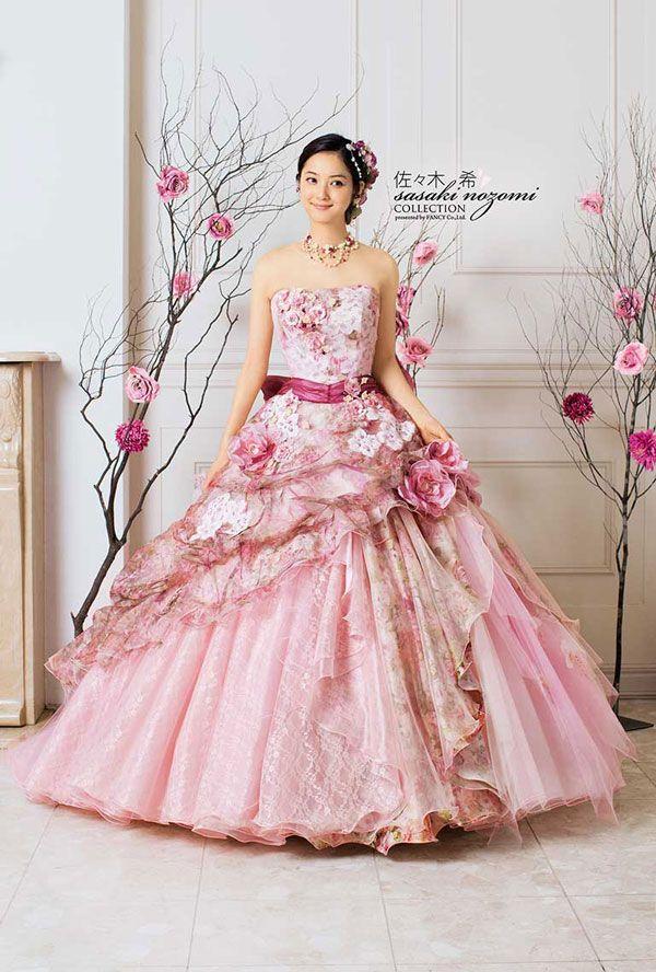 Nozomi Sasaki - Wedding Dress Ads