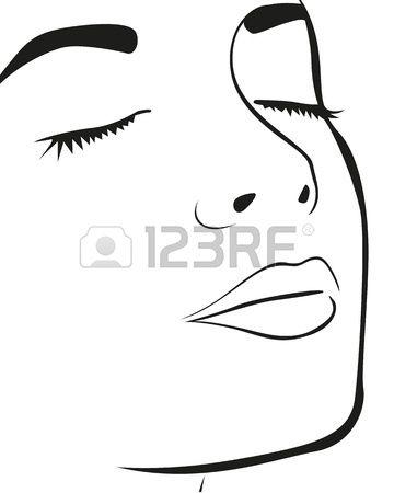 siluety tváre - Hľadať Googlom