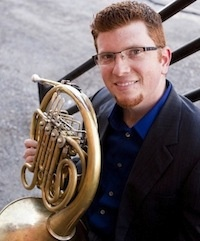 Featuring Nathan Ukens on French Horn Mozart & Bizet at Congregation Albert (2/2/13)