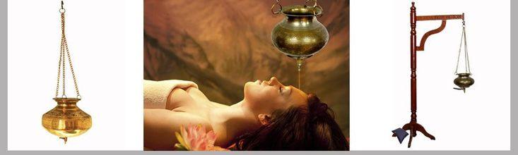 shirodhara ayurveda stirnguss - orientart