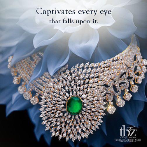 diamond jewellery # new launch # tbz # bridal