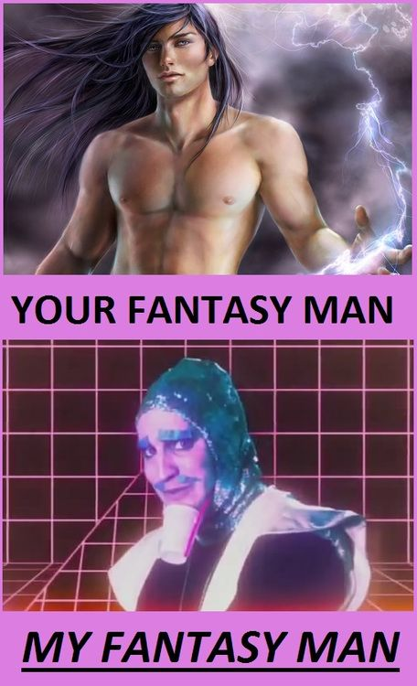 Sadie's Obsessions/ Daily Dose-- fantasy man