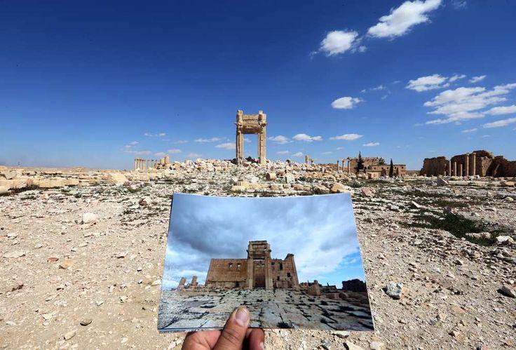 Tout est prêt à Palmyre. Iconem n'attend plus que le feu vert des autorités syriennes, et ses drones pourront balayer le site archéologique...