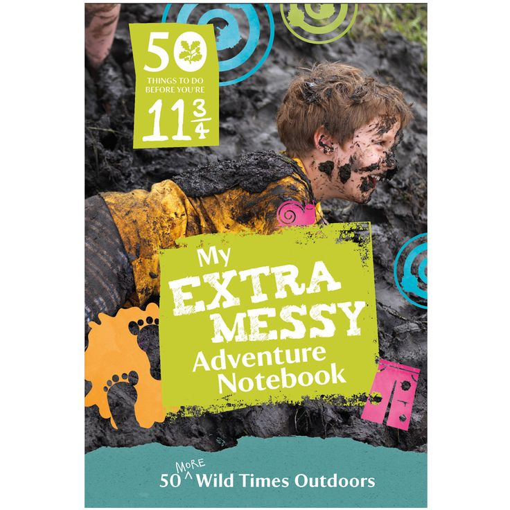 '50 things' extra messy adventure notebook, £5, National Trust (Surrey, Hampshire and online)