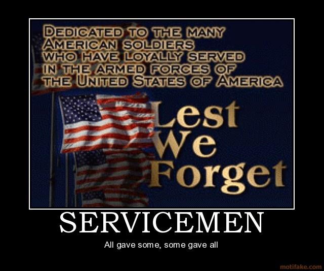 Servicemen/women