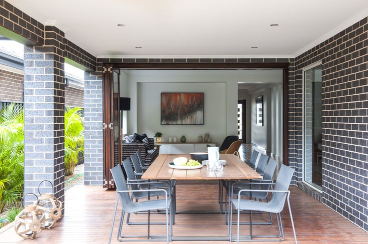 Outdoor Living - Toscano 330 with Aspire Facade on display at Greenway Estate, Colebee