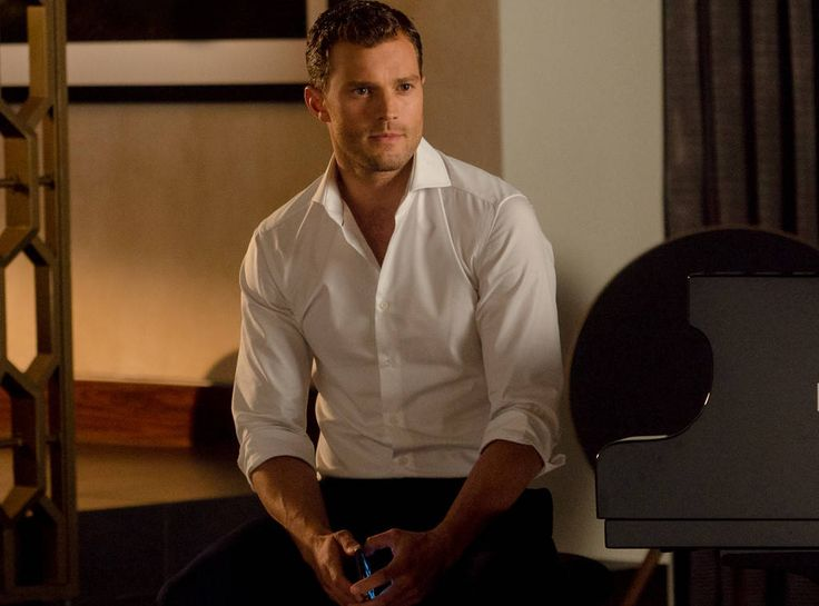 Classic Grey from Fifty Shades Darker: Sneak Peek  Christian Grey (Jamie Dornan) gives his signature look.