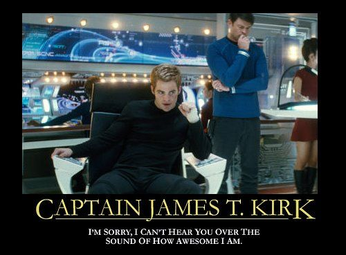 Captain kirk awesome meme
