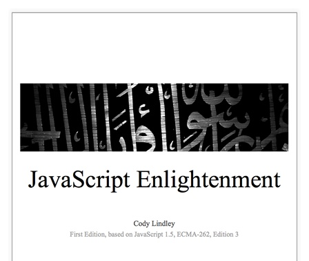 Free PDF ebook from Cody Lindley, intended to help people go from jQuery-copy-paster to competent javascript understander.