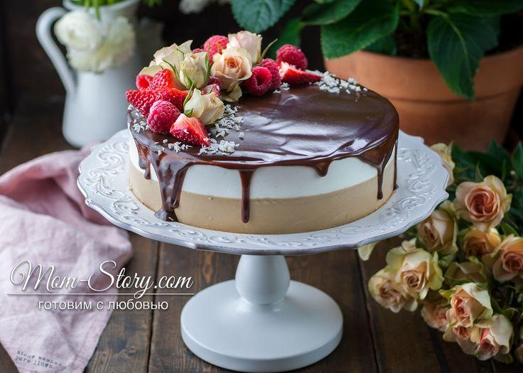 Торт «Птичье молоко» с кофе — идеальный рецепт с фото