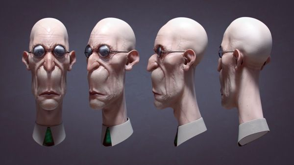 Homage to Carlos Huante on Behance