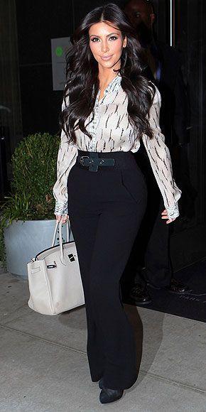 Kim Kardashian Fashion and Style - Kim Kardashian Dress, Clothes, Hairstyle - Page 42