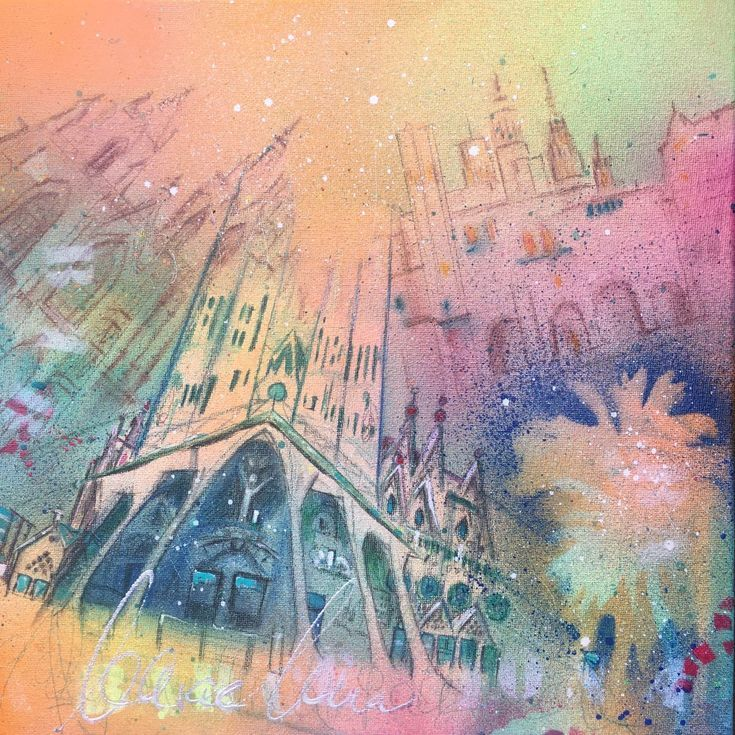 Buy Barcelona 10 (S), Mixed Media painting by Beate Garding Schubert on Artfinder. Discover thousands of other original paintings, prints, sculptures and photography from independent artists.