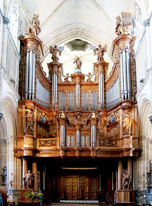 Ancienne cathédrale Notre-Dame, Saint-Omer, France