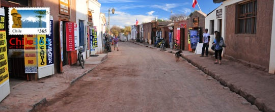 Pueblo de San Pedro de Atacama, Chile