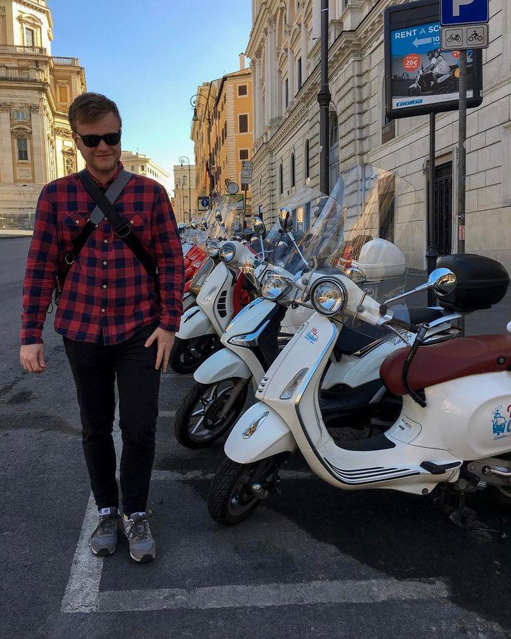 #vespy v #rime #italie