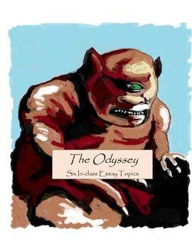 The odyssey: in-class essay topics | Essay topics | Pinterest ...