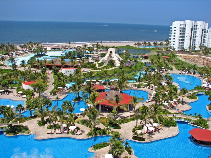 the grand luxxe nuevo vallarta   ... my pictures views from our balcony at the grand mayan nuevo vallarta