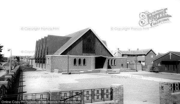Widnes, Our Lady's, Liverpool Road c.1965, from Francis Frith