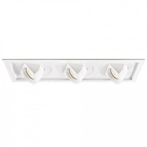 WAC Lighting MT-5LD325T-F Tesla Multiple Spots 3.5 Three Light LED Adjustable T (white / 4000k (White/4000k))