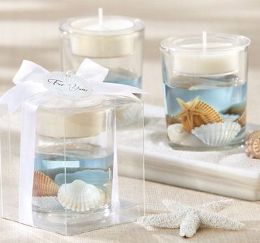Seashell Tealight Candle Holder