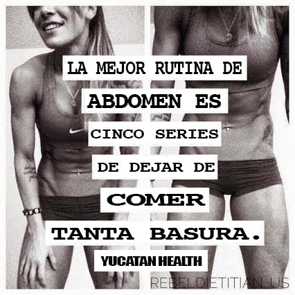 Muy cierto! #fit4life #abs