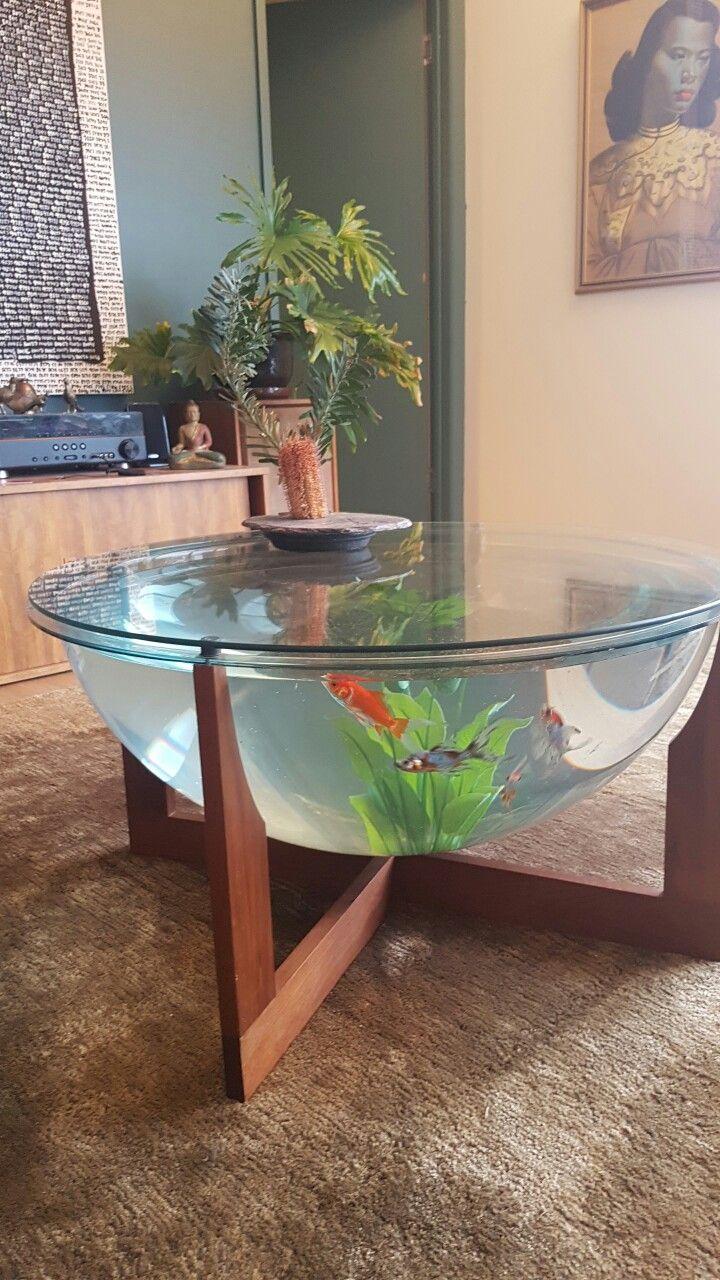 Best 25 fish tank coffee table ideas on pinterest how to make retro mid century danish design fish tank terrarium coffee table geotapseo Choice Image