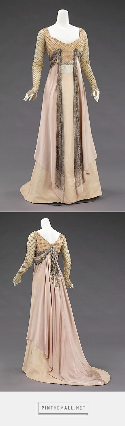 Evening dress by House of Worth 1907-1910 French | The Metropolitan Museum of Art