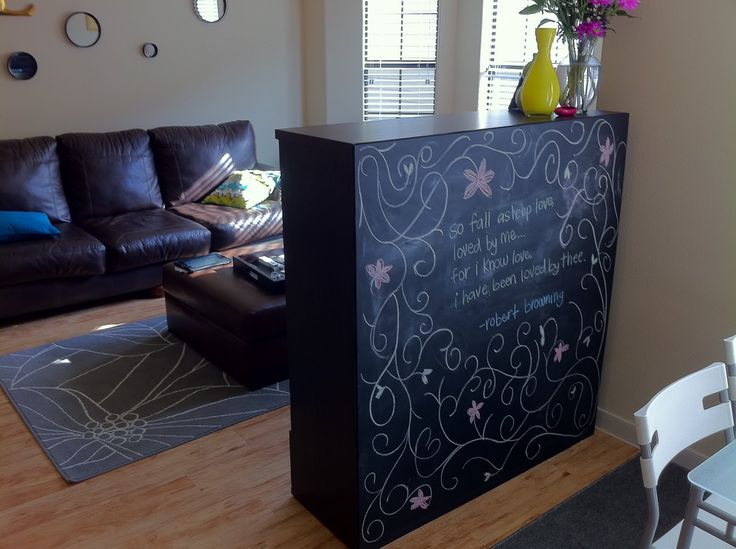 Kids Blackboard Decoration Ideas Room Wall Divider, Photo Kids Blackboard  Decoration Ideas Room Wall Divider Close Up View.