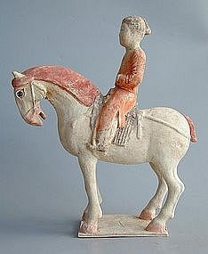 hinese Tang Dynasty Horse Rider+ TL TEST