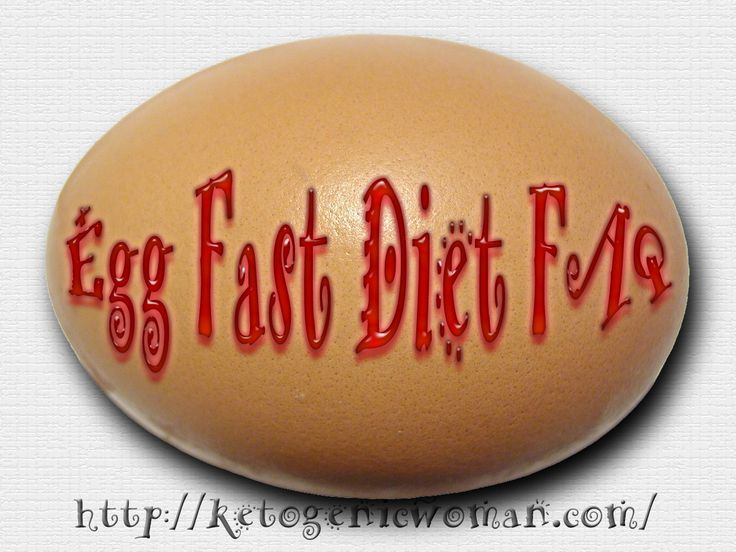Egg Fast Diet FAQ - everything you want to know about the Egg Fast Stall breaking diet!  #keto #eggfast