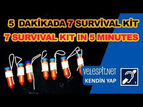Velespit.Net - 5 dakikada 7 Hayatta Kalma Kiti Yapımı | Kendin Yap Projeleri | Giriş Seviyesi Hayatta Kalma Kiti