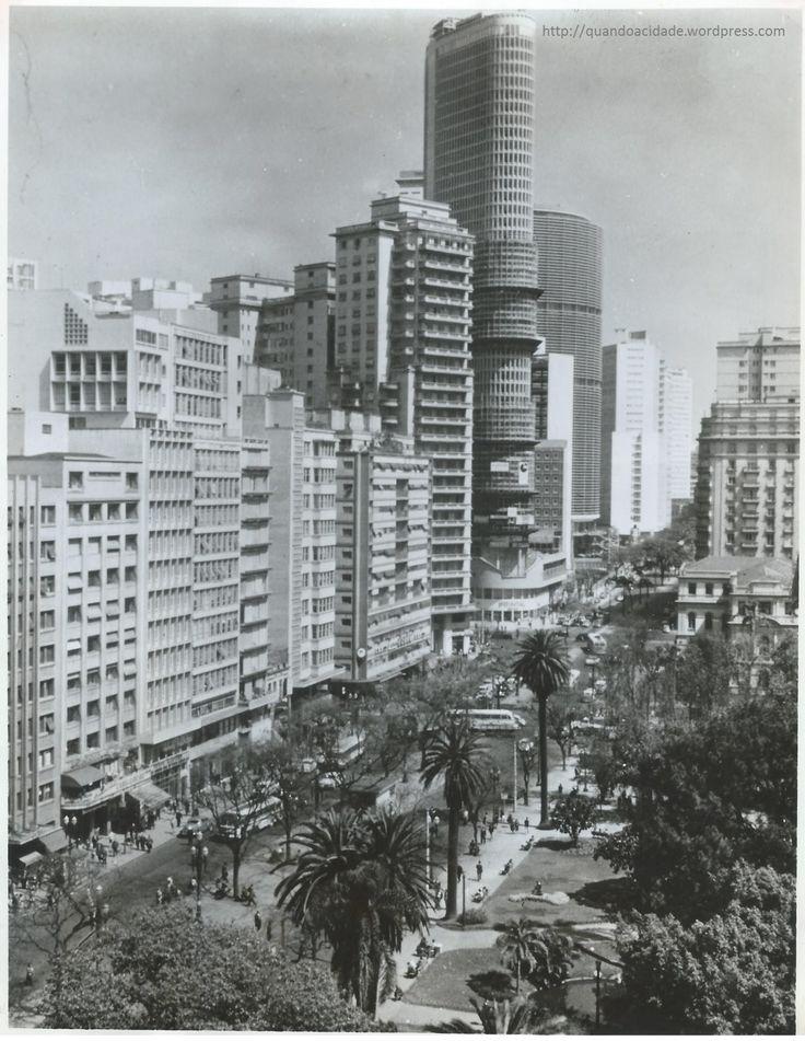 Av. Ipiranga com Praça da Republica_1970.