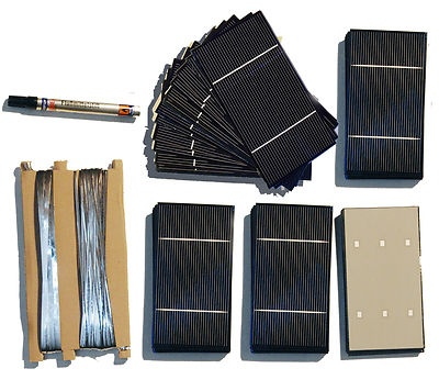 Diy Solar Panel Kit With 72 A Grade Polycrystalline Cells