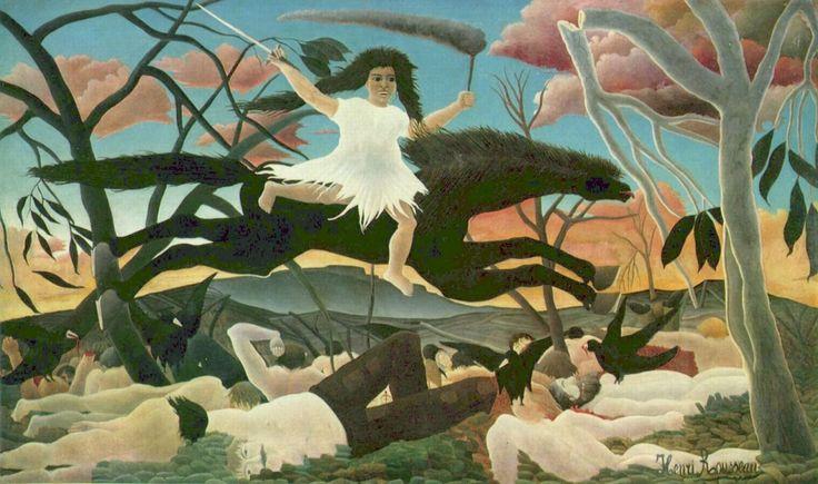 Анри Руссо. Война (Всадница раздора). 1894 г.