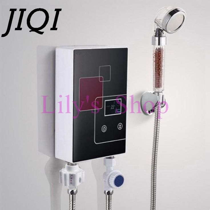 Instant Tankless Electric hot Water Heater Faucet Kitchen Instant Heating tap Shower Water heater with LED display EU US plug